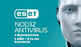 Licencias NOD32 Antivirus