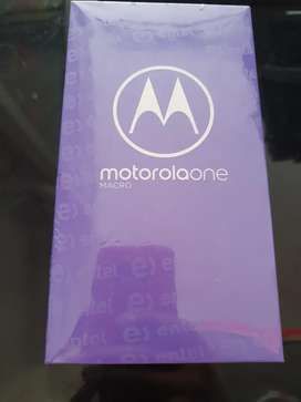 MOTOROLA ONE MACRO . 4 RAM . 64 MEMORIA ..