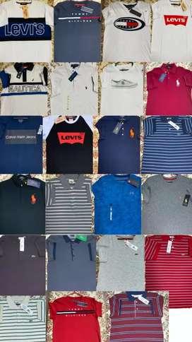Camisetas marca levis Hugo Boss tommy Hilfiger lacoste talla S ropa americana