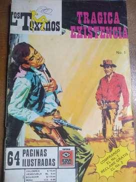 Revista Los Texanos. Ejemplar # 1. Con 64 págs.