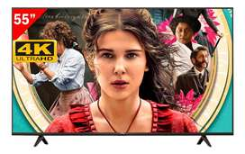 """TV SMART TCL ANDROID 55"""" 4K NUEVOS"""