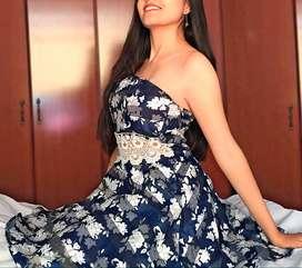 Vestido azul  Misska