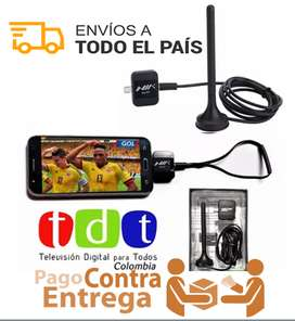 Tdt Para Celular Decodificador Full Hd Antenas