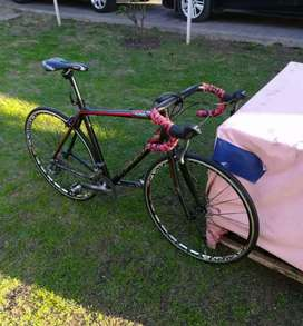 Bicicleta de carrera top mega 16v shimano talle XL