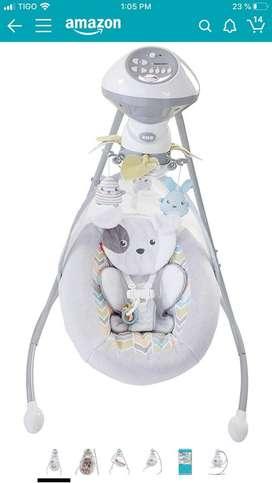 Mecedor automatico para bebes
