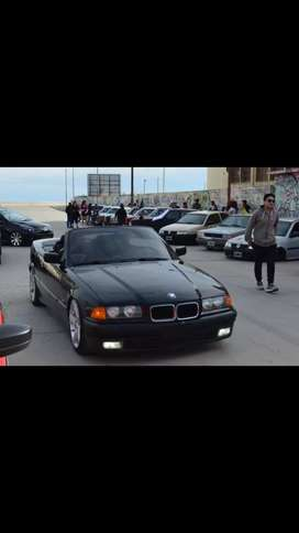 BMW cabriolet descapotable