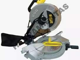 """Sierra colilladora ingleteadora 10"""" para madera y aluminio Nueva"""