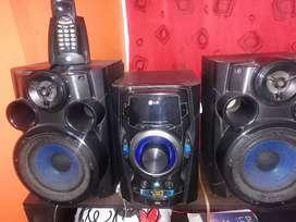 Se vende equipo de sonido usb
