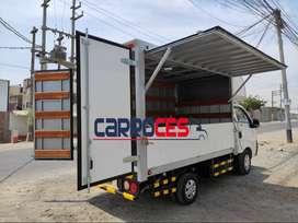 Venta y fabricación de toto tipo de carrocerías para cualquier tipo de camión.