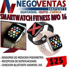 SMARTWATCH FITNESS IWO 16 EN DESCUENTO EXCLUSIVO DE NEGOVENTAS