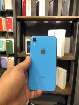 Iphone XR de 64 gb azulpromo hasta agotar