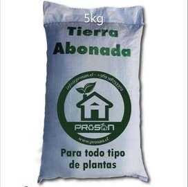 Tierra Abonada Plantas Todo Tipo Cultivos Crecimiento 5kg 1a