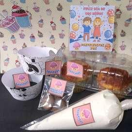 Kit decora tus cupcakes