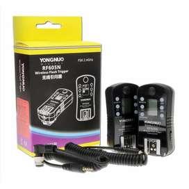 Radio Disparador de flash Yongnuo RF 605N inalámbrico para Nikon Emisor Receptor
