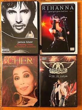 Dvds musicales originales
