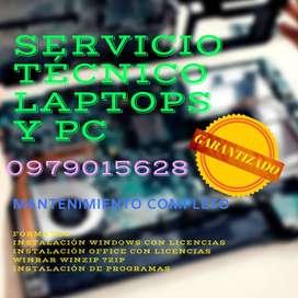 Servicio Técnico Laptops y PC