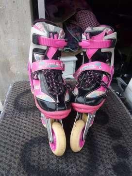 Espectaculares patines para niña canariam