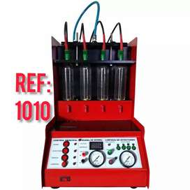 Maquina de prueba y lavado de inyectores