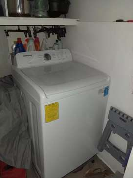 Vendo lavadora como nueva Samsung de 19,0 kg