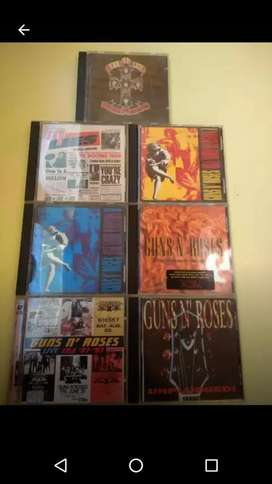 Discografia Guns N Roses ORIGINAL + Umplugged ( no original ) Impecable Lollapaloozaza