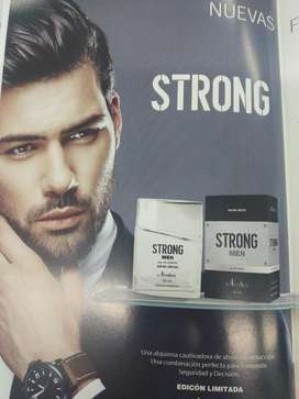 Fragancia Masculina Strong