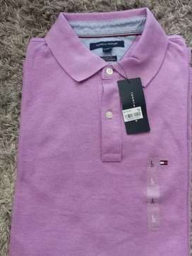 Suéter tipo polo Tommy talla L