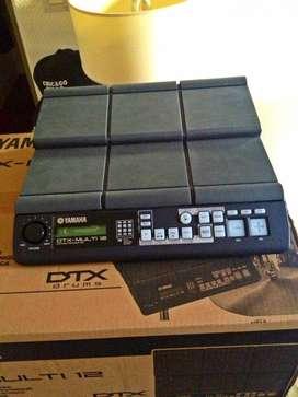 Nuevo pad de percusión electrónico Yamaha DTX Multi 12