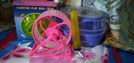 Kit de accesorios para hamster de segunda