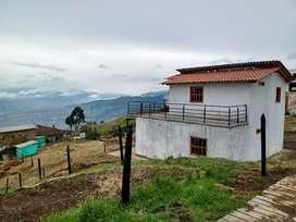 Vendo lotes en San Cristóbal verdad él yolombo con una espetacular vista aire puro