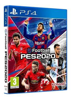 Pes 2020 Ps4 100% Original Sellado