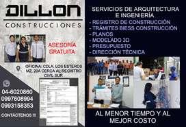 ARQUITECTO - INGENIERO - PLANOS - REGISTRO DE CONSTRUCCIÓN - TRÁMITES MUNICIPALES - BIESS - CONSTRUCCIÓN