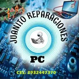 REPARACION Y MANTENIMIENTO DE PC Y NOTEBOOK