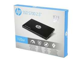 Disco duro solido marca HP 120GB