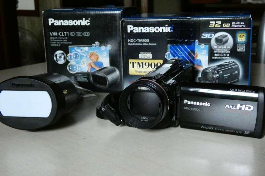 Vendo videocamara Panasonic tm900 0