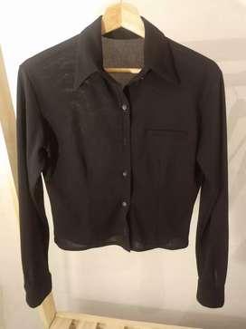 Camisa pupera manga larga
