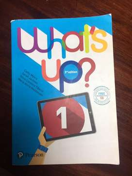 Libro de Ingles, What's Up? 1