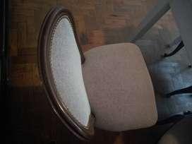 Hermosa silla estilo francés