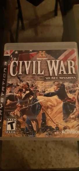 Ps3 vendo juegos civil war