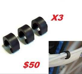 Clips sujeta ductos de frenos hidráulicos x3 unidades $50