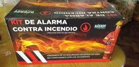 Kit de alarma contra incendios