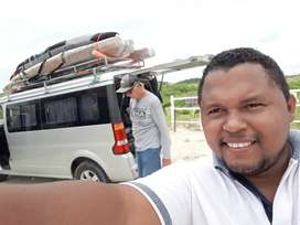 furgoneta para viaje con chofer