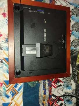Se vende un hermoso porta retrato digital de marca Philips en excelente estado
