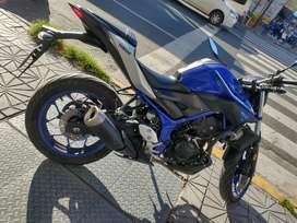 Yamaha Mt03 300cc
