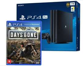 Ps4 Pro Pro Hdr 1 Tb  Juego Days Gone