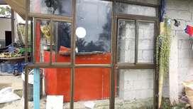 Porton de vidrio