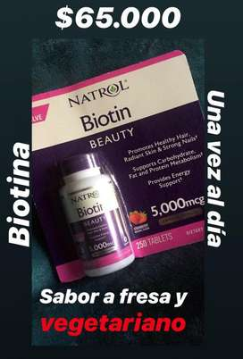 Pastilla de Biotina