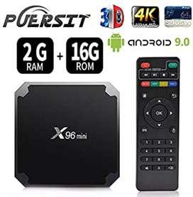 Super Tv Box X96 Mini 2gb Ram 16gb Android 9.0 Wifi 4k
