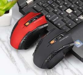mouse gamer inalambrico 6 botones + regalo