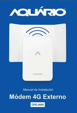 internet rural, router amplimax aquario