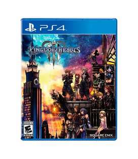 Juego Kingdom Hearts III para PS4 Nuevo y sellado